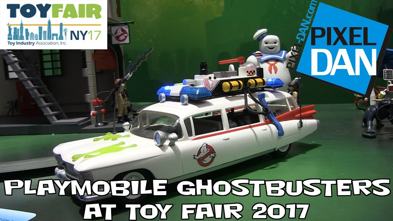 Playmobil Ghostbusters Product Display At New York Toy