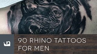 Video 90 Rhino Tattoos For Men download MP3, 3GP, MP4, WEBM, AVI, FLV Agustus 2018