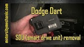2013 Dodge Dart transmission control module (TCM) removal and
