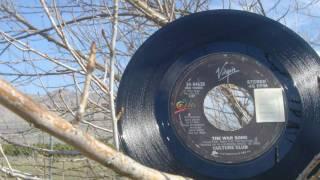 La Cancion De Guerra by Culture Club Original 45 RPM b Side of The War Song