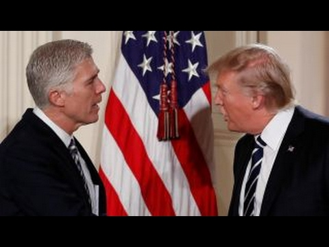 Trump rips Blumenthal for misrepresenting Gorsuch remarks