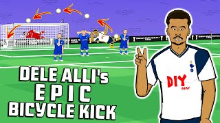 DELE ALLI BICYCLE KICK GOAL! 📺Goggle In The Box📺 Reaction Ft Neymar Kane Ronaldo Giroud & Rooney!