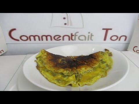 recette de l 39 omelette l 39 oseille comment faire une omelette facilement youtube. Black Bedroom Furniture Sets. Home Design Ideas