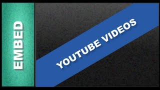 Web Design Tutorials for Xara Web Designer 7 Premium - Embed a Youtube Video Lesson 22
