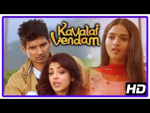 Kavalai Vendam Movie Scenes   Kajal...