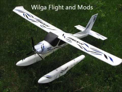 Wilga 2000 on floats - flight and Mods