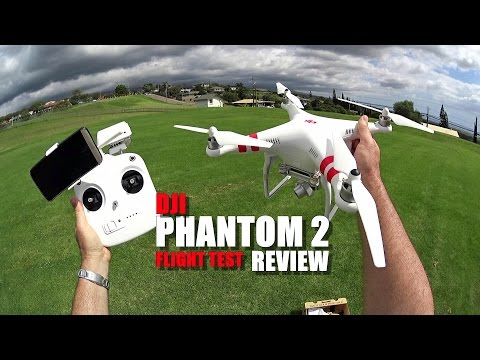 DJI PHANTOM 2 Review - [Flight Test - Vision+ Version]