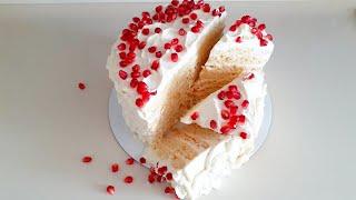 Торт на сгущёнке Молочная Девочка Нежный немецкий торт