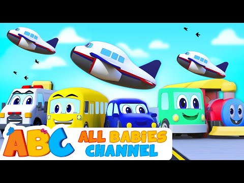 The Vehicle Song For Children | Learn Vehicles For Kids | 3D Nursery Rhymes By All Babies Channel