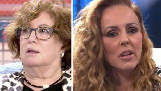 Tremendo zasca de Rosa Villacastin contra Rocío Carrasco y Fidel Albiac por Olga Moreno
