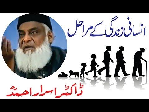 Insani Zindagi Kay Marahil By Dr. Israr Ahmed