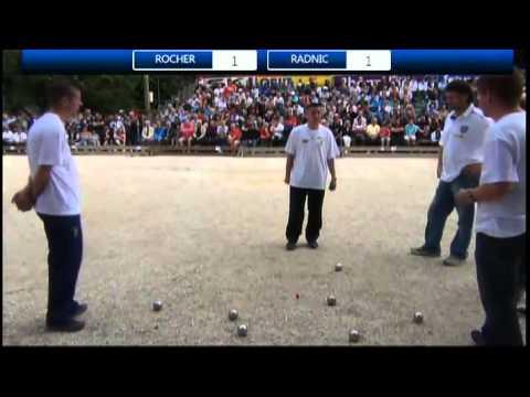 Finale de l'International Pétanque Cup 2013 de Sassenage