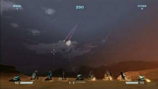 Missile Command Xbox Live Gameplay - Evolved