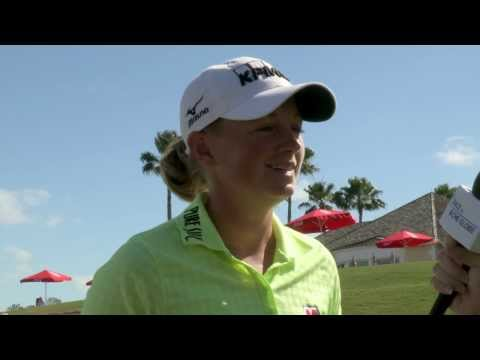 Stacy Lewis' First Round Interview at the 2014 Pure Silk Bahamas LPGA Classic