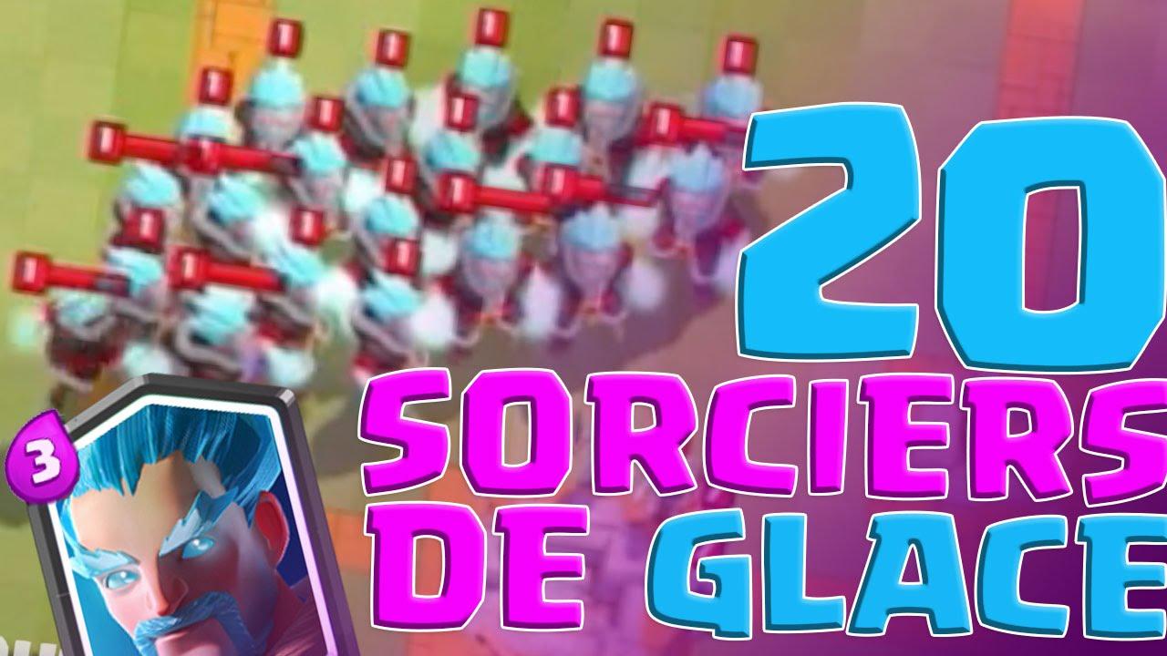 20 sorciers de glace d fi de davidk record mondial de for Deck clash royale sorcier de glace