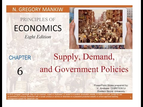 Chapter 6  - Supply, Demand and Government Policies