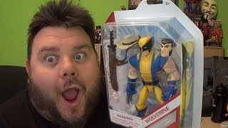 Marvel Toybox Wolverine X-Men Disney Store Exclusive Action Figure Review