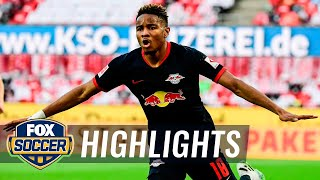 Leipzig overpowers Köln, hops into third place in the Bundesliga table | 2020 Bundesliga Highlights