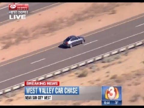 Phoenix High Speed Chase 13 November 2013