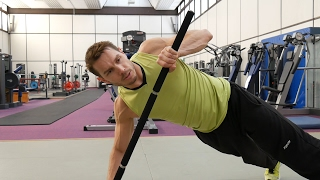 Bodyweight Exercises with Bodypole Fitness-Bar