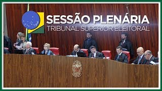 Sessão Plenária do dia 24/05/2018.