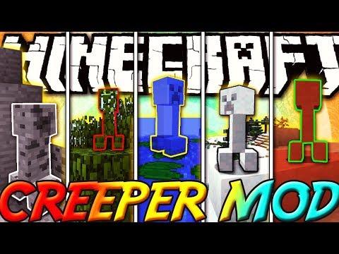 CREEPER INVISIBILI SU TUTTI I BLOCCHI - Minecraft ITA - Camouflaged Creepers Mod Review