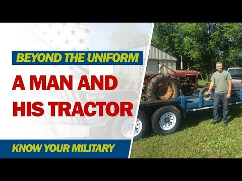 A Mann and His Tractor