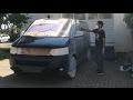 DIY Pintar coche con vinilo líquido Full Dip o Plasti DIP. Blanco y negro mate. Dip your car