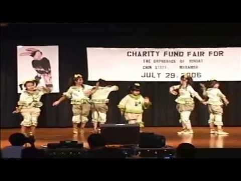 Music for Charity - Royal Thu Nge Taw Dance, Donating for Chin State