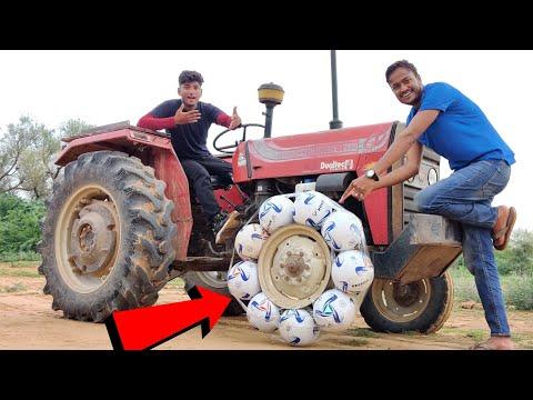 Football vs Tractor