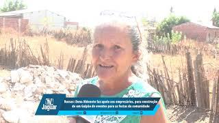 Dona Aldenete faz apelo aos empresários, para construção de um Galpão de eventos