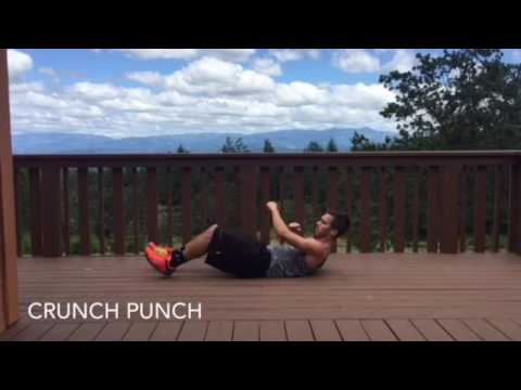 5 move bodyweight ab routine