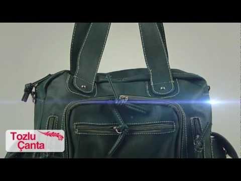 a9324af2511b0 Tozlu Giyim, Çanta Modelleri - YouTube