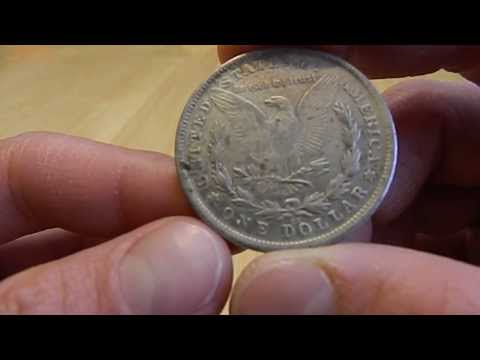 FAKE U.S. Silver Dollar Coins Close Up Examination