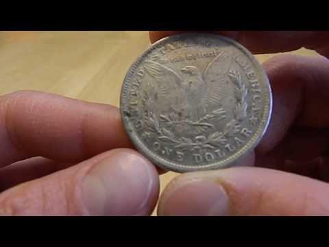 FAKE U.S. Silver Dollar Coins Close Up Examination