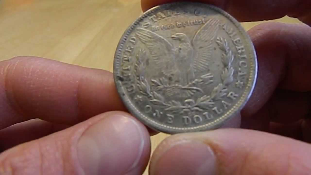 Fake U S Silver Dollar Coins Close Up Examination Youtube