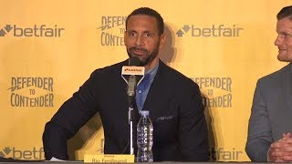 Rio ferdinand announces he is starting a pro boxing career