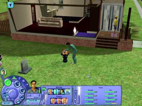 Вопрос: Как сделать зомби в игре Sims 2?