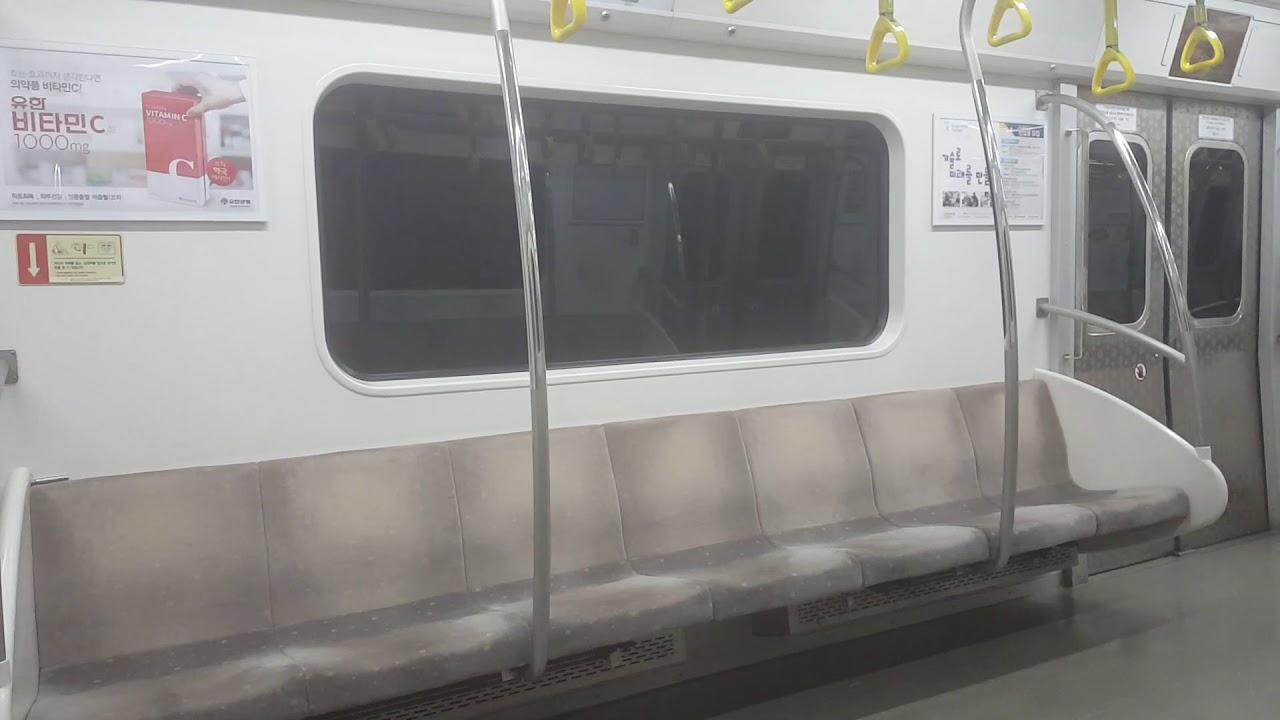 [60fps] 서울 지하철 9호선 올림픽공원 → 한성백제[일반]