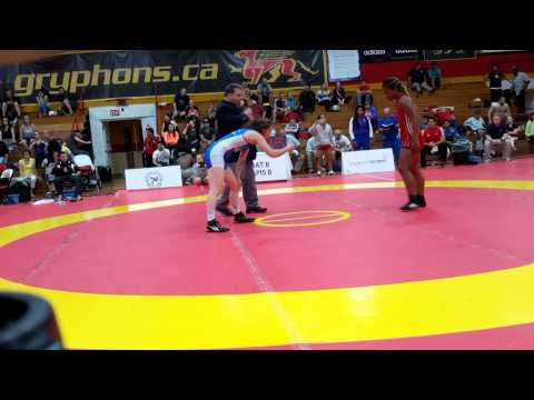 2015 Canada Cup: 69 kg Yudaris Rodriguez (CUB) vs. Leah Ferguson (CAN)