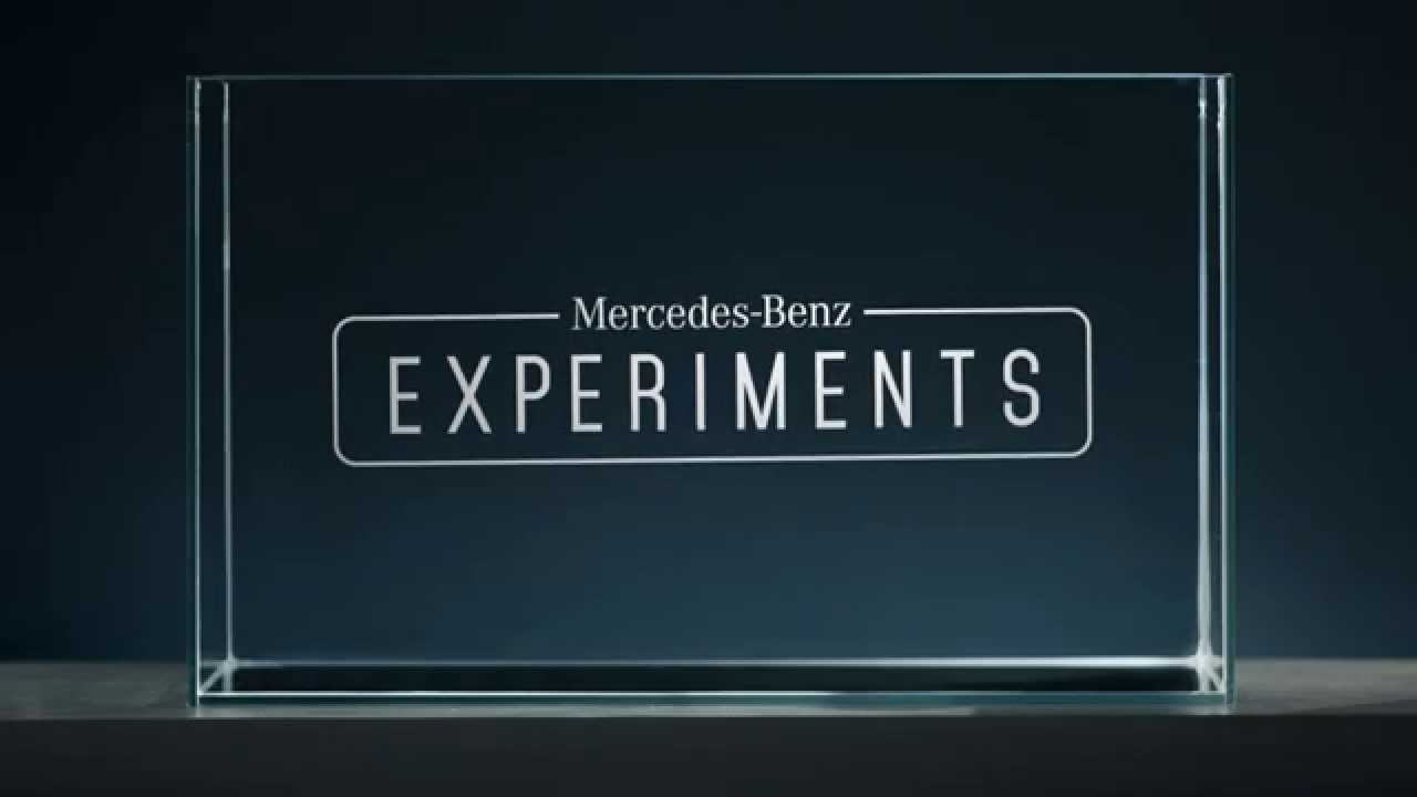 Mercedes-Benz Demonstrates a Trio of Science Experiments Featuring