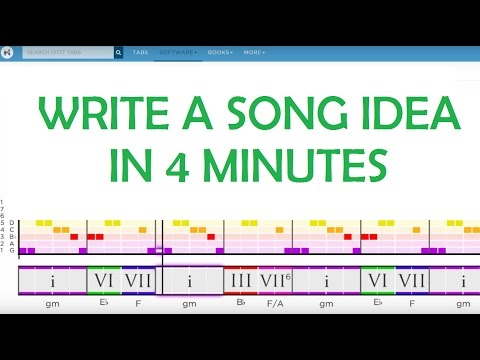 How To Compose A Song Idea In 4 Minutes (NO DAW or Piano Required)