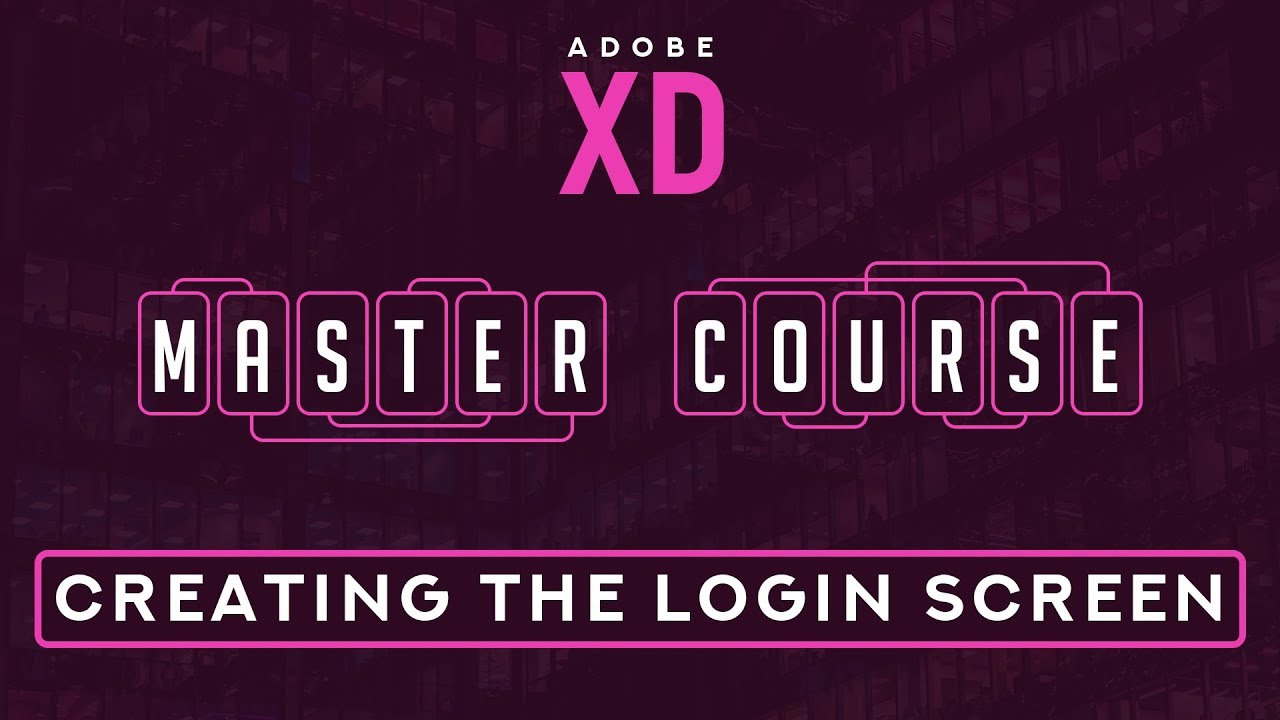 adobe login screen