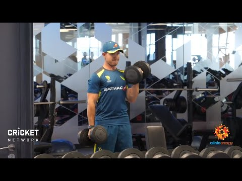 Aussies Get Physical In Jo'burg Ahead Of T20 Series | Qantas Tour Of South Africa