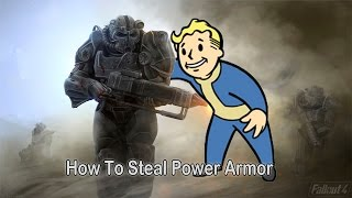 Fallout 4 - How to steal Power Armor/Get more power armor frames.
