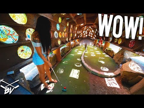 THERE IS NO OTHER MINI GOLF COURSE LIKE THIS IN THE WORLD!
