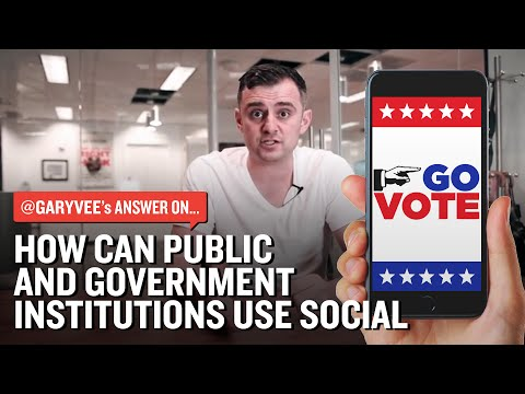 How Can Public and Government Institutions Use Social in Marketing Campaigns?