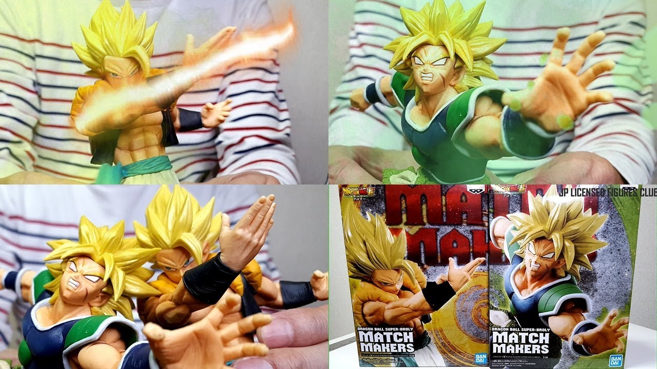 Dragon ball gogeta ssj super saiyan match makers