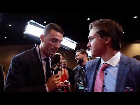 Clayton Keller's Taste of Stardom at 2018 NHL Awards