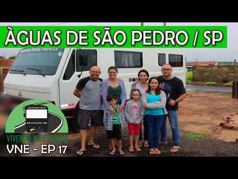ÁGUAS DE SÃO PEDRO SP - RECEBENDO APOIO DE AMIGOS - VNE EP 17